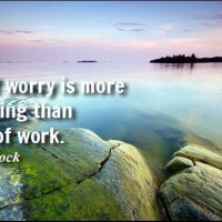 Worry - Inspirational Quotes Images