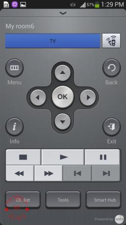 how to use samsung s4 as tv remote