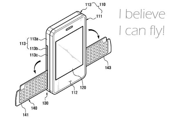 Samsung Wing Phone