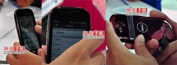 Dell Mini 3i Smartphone: First Live Photographs