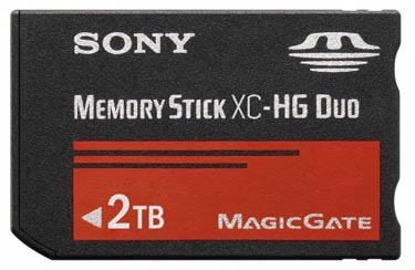 Sony Pushes Memory Stick to Two Terabytes of Storage