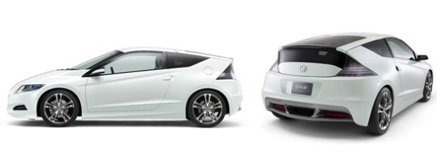 Honda CR-Z Hybrid Hatchback Almost Production Ready