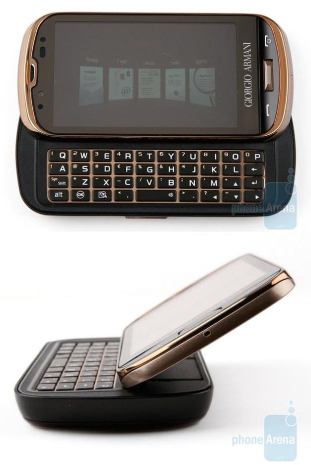 Samsung Giorgio Armani Smartphone with Windows Mobile 6.5
