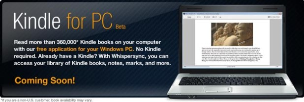 Amazon Kindle to Invade Multitouch Windows 7 Tablets