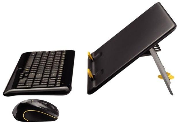 Logitech MK605 Kit Converts Notebook to Desktop