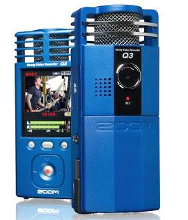 Zoom Q3 Handy Video Recorder Starts Shipping