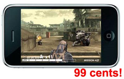 All Konami Games for iPhone on Sale for 99 Cents Each