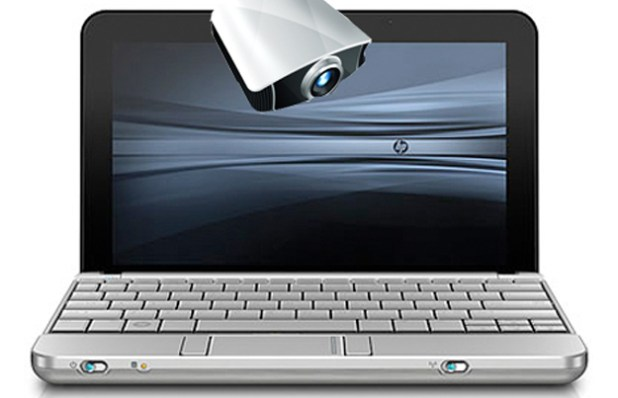 Integrated Projectors for New HP Tablet and Notebook PC