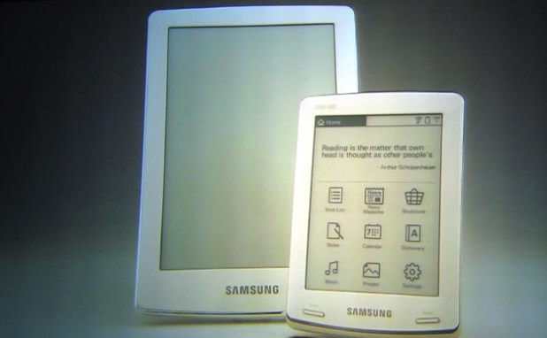 Samsung Enters Ebook Reader World with Google Books