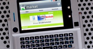 Google Android Market on a Motorola Devour Smartphone - Photo: Mobile Magazine