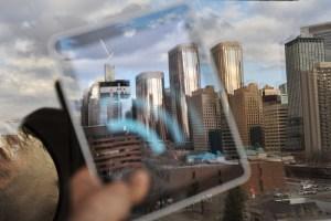 Apple iPad Reflection of Calgary - Photo: Fabrizio Pilato