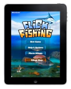 ngmoco's FlickFishing for the Apple iPad
