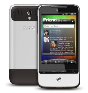 HTC Legend smartphone running Google Android, sucessor to the HTC Hero