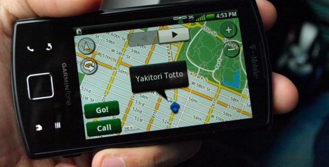 Garmin's Android-based navigation smartphone