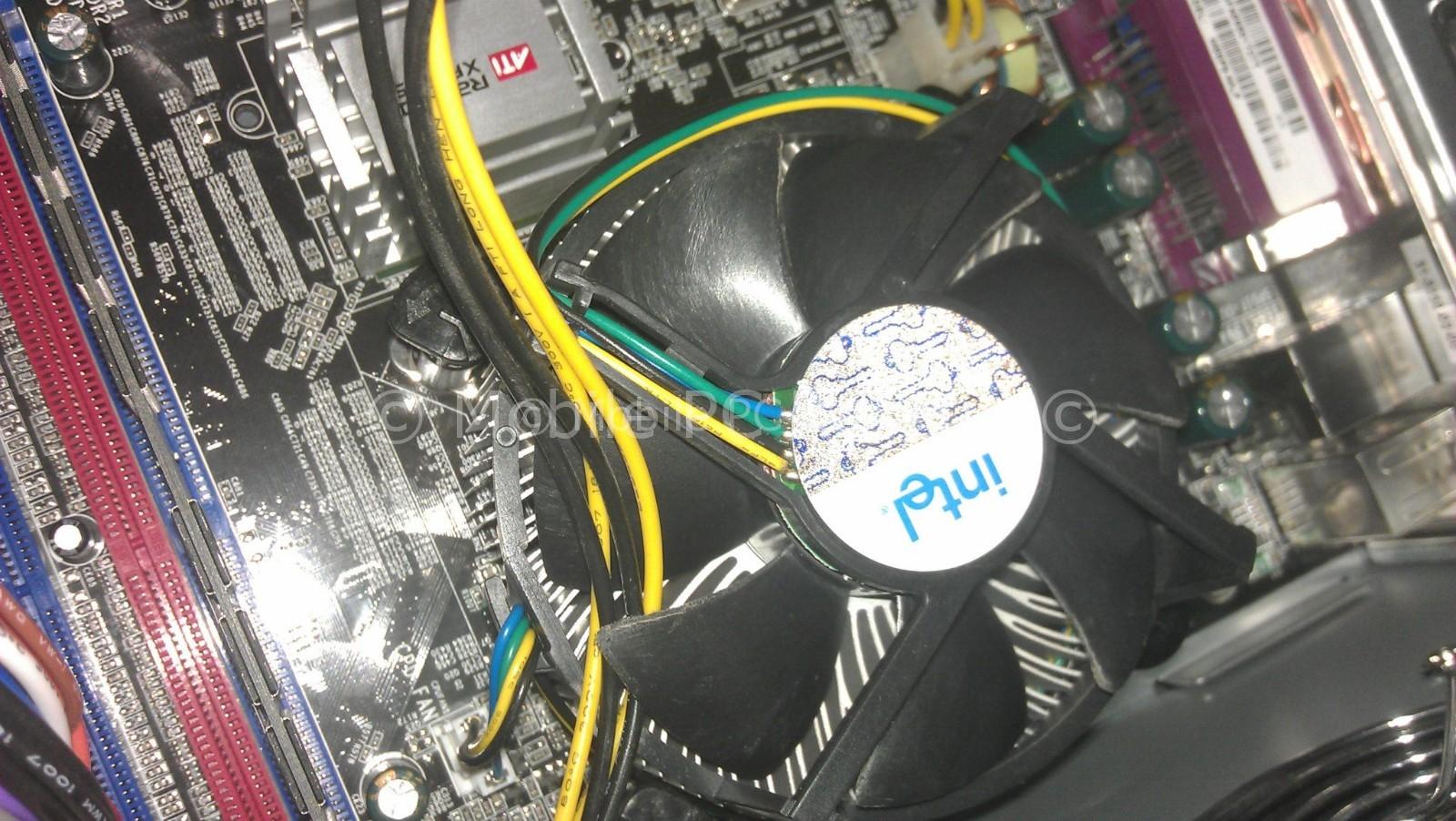 wire in fan