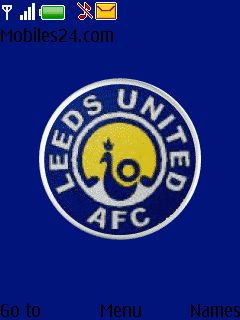 Leeds United Free Nokia Series 40 3rd Edition Themes (240x320) download - Download Free Leeds ...