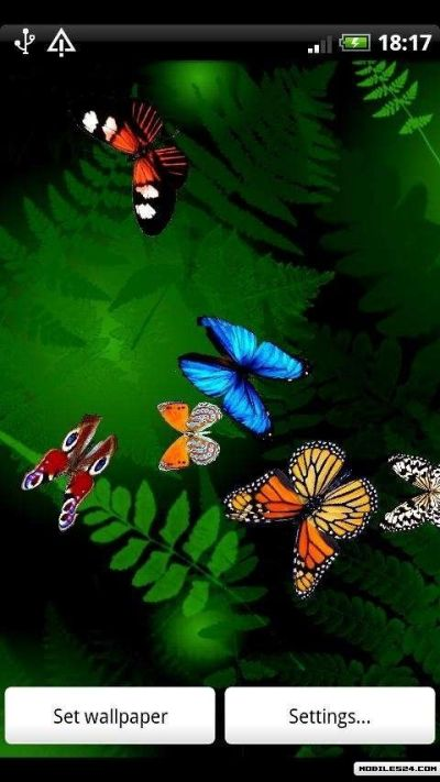 Butterfly Live Wallpaper Free Android App download - Download the Free Butterfly Live Wallpaper ...