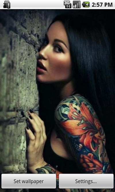 Tattooed Girls Live Wallpaper Free Android Live Wallpaper download - Download the Free Tattooed ...