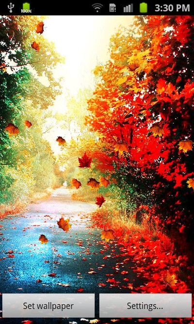 Autumn Live Wallpaper Free Android Live Wallpaper download - Download the Free Autumn Live ...