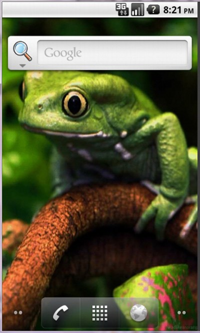 Frog Free Android Live Wallpaper download - Download the Free Frog App to your Android phone or ...