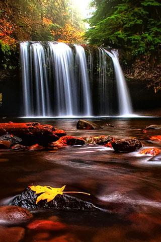 Download Free Android Wallpaper 3D Waterfall - 2250 - MobileSMSPK.net
