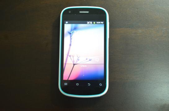 Cherry Mobile W100 Screen