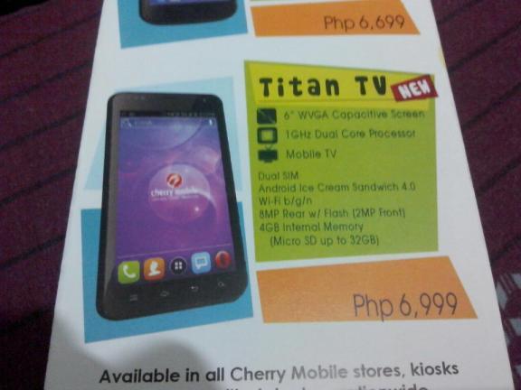 Cherry Mobile Titan TV