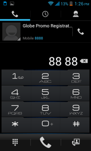 Cherry Mobile Titan TV Dialer