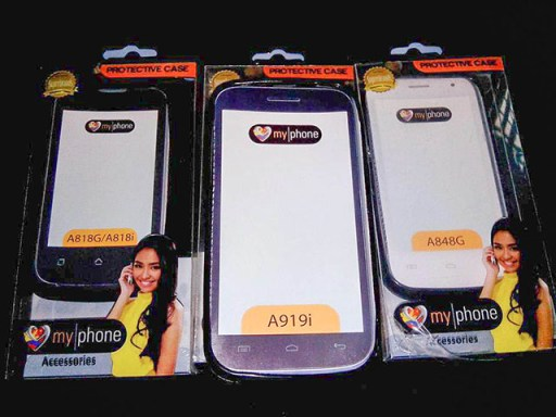 MyPhone A848G A818G A818i Leaked Cases