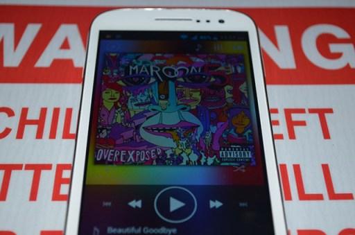 MyPhone A919i Duo Screen