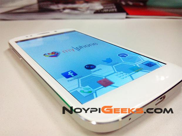 MyPhone Vortex White Variant NoypiGeeks