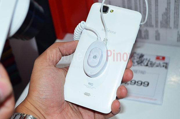 MyPhone Rio White Back Cover