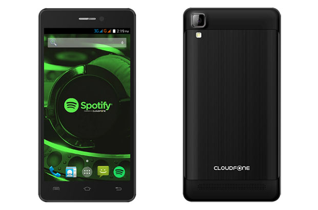 Cloudfone Thrill 500x and Thrill 500x+ Spotify Edition Smartphones Come with Free Headphones and Headsets!