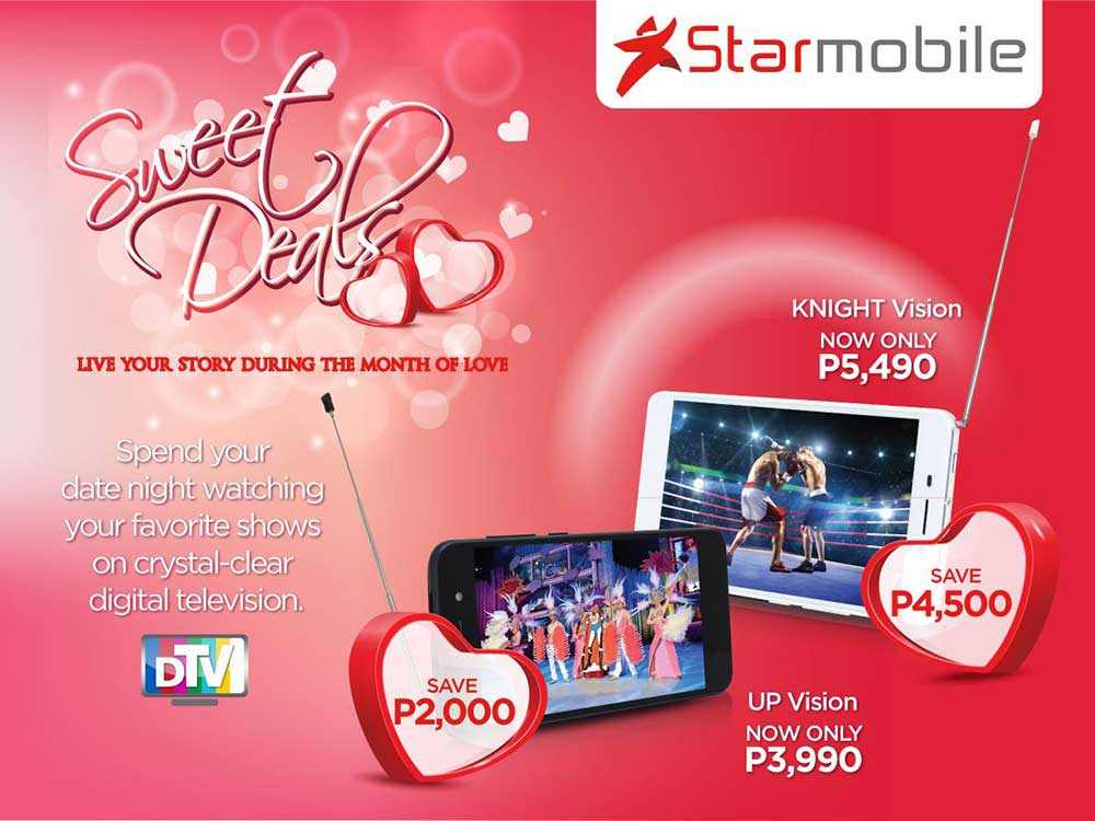 Starmobile Valentine Sale 2016 Slashes Up to Php4.5k Off on Select Smartphones