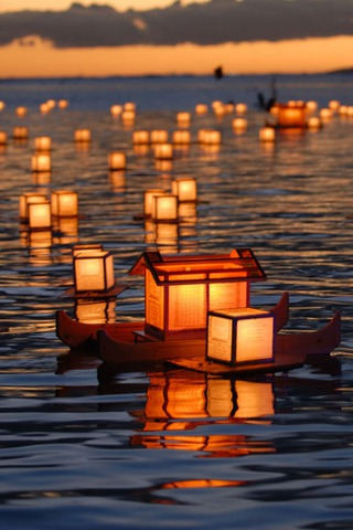 Download Lantern Floating Hawaii IPhone Wallpaper Mobile Wallpaper | Mobile Toones