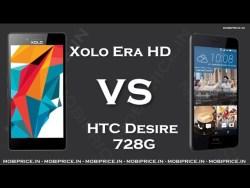 Compare Online HTC Desire 728G VS Xolo Era HD Price, Specification, Review