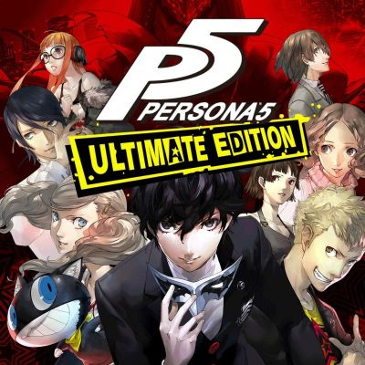 Persona 5: Ultimate Edition (2017) PlayStation 3 box cover art - MobyGames