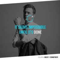 Impossible? Is it?Follow @mightofcommitment for #motivational #inspirational #quotes