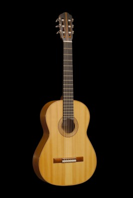Cypress guitar front