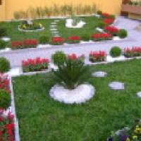 Um lindo modelo de jardim  que vale a pena fazer, fotos