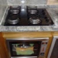 Fogão cooktop, modelos diferentes e modernos