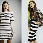 TENDENCIA PRIMAVERA: Las rayas se reinventan en vestidos y faldas de tubo