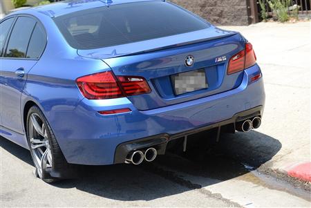 BMW F10 M5 DTM Style Carbon Fiber Rear Diffuser