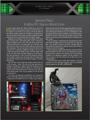 CPU Mag -- 2nd Place SKYRIM World Eater