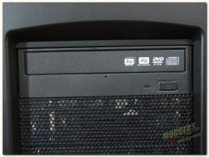optical drive in place