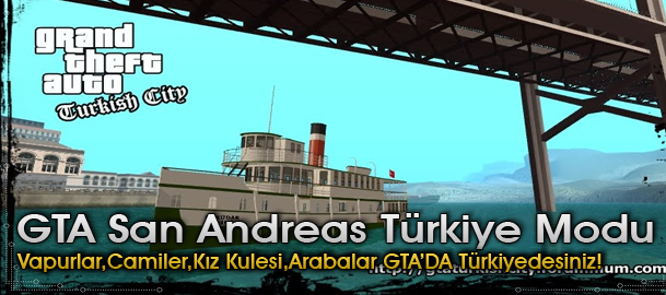GTA San Andreas Türkiye Yaması (Turkish City)