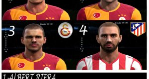 pes 2013 galatasaray face pack