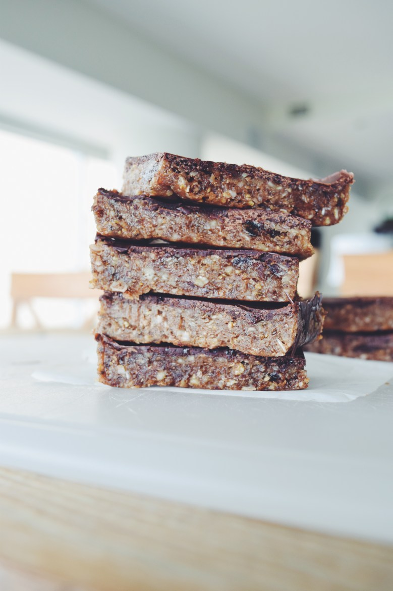 Raw Chia Seed Energy Bars