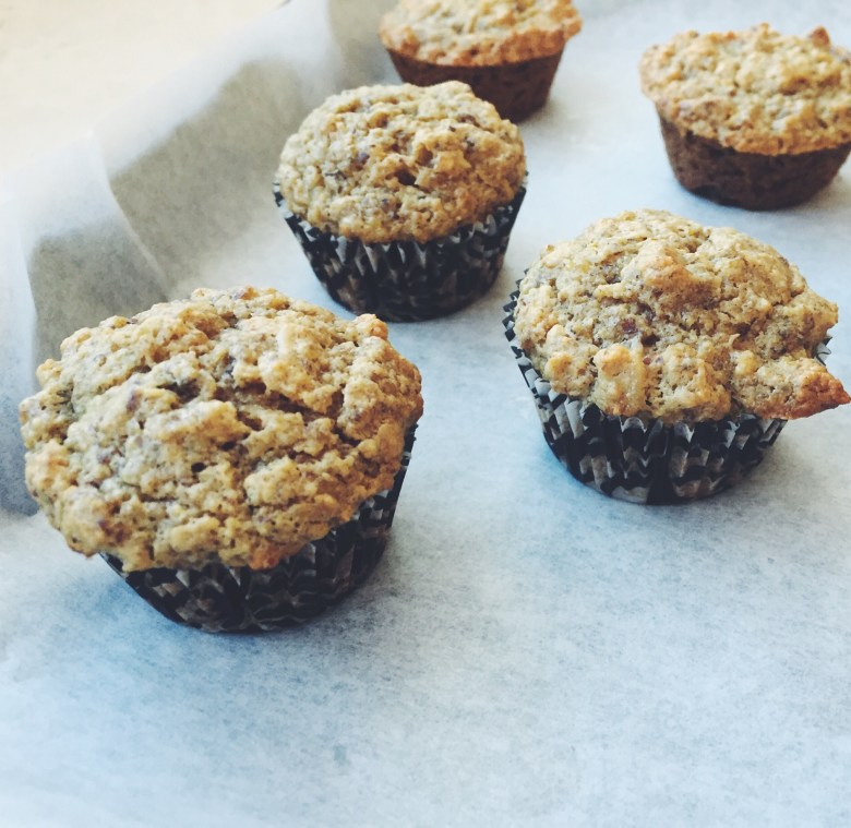 BANANA OAT MUFFINS, GF, DF, and Refined sugar free