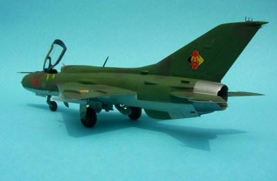 MiG-21PF Fishbed-D, Fujimi 1:72 von Renato Beck